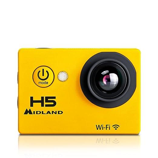 13 opinioni per MIDLAND C1208 H5 VideoCamera Full HD con Wi-Fi, 5MP