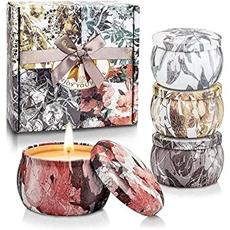 YINUO LIGHT Scented Candles Gifts Set for Women Aromatherapy Candles Stress Relief