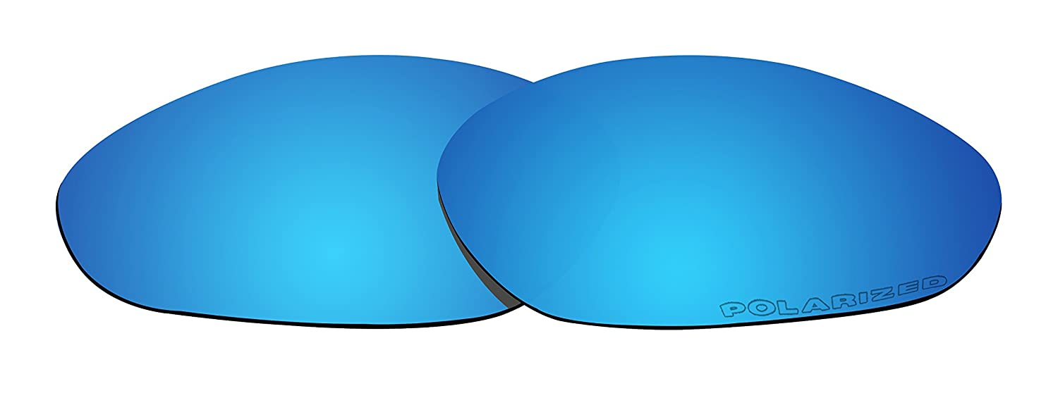 2aede29ca5 Amazon.com   BVANQ Replacement Lenses Polarized for Oakley Minute 2.0  Sunglasses Blue Mirror Coatings   Sports   Outdoors