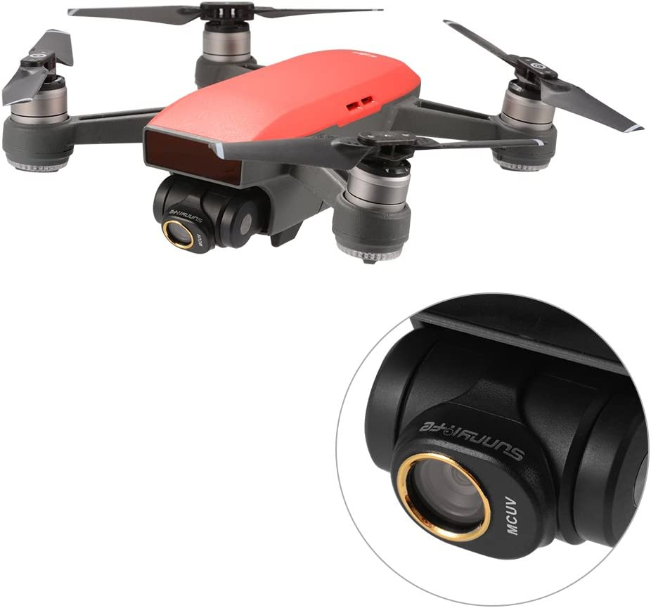 HD Drone MCUV Lens Filter for DJI Spark Durable