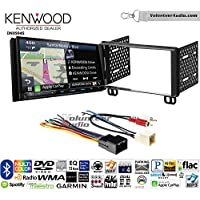 Volunteer Audio Kenwood Excelon DNX994S Double Din Radio Install Kit with GPS Navigation Apple CarPlay Android Auto Fits 2002-2005 Explorer, 2001-2004 Mustang