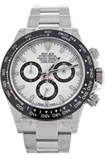 461fc18dfdd0e ROLEX Cosmograph Daytona White Dial Stainless Steel Oyster Men's Watch  116500