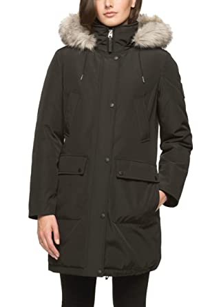 Andrew Marc Ladies' Snorkel Parka Jacket with Detachable Fur Lined ...