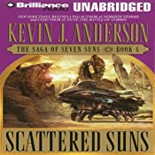 Scattered Suns: The Saga of Seven Suns, Book 4 | Kevin J. Anderson