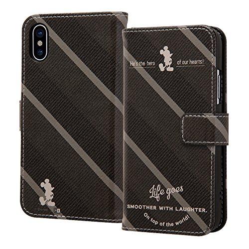 シニス悪化するカポックiPhone X/iPhone Xs ケース ディズニー キャラクター 手帳型アートケース マグネット / ミッキーマウス14 IN-DP8MLC2/MK014
