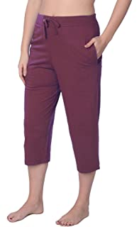 4ba49fc8f24 Beverly Rock Women s Capri French Terry Pant Available in Plus Size ...
