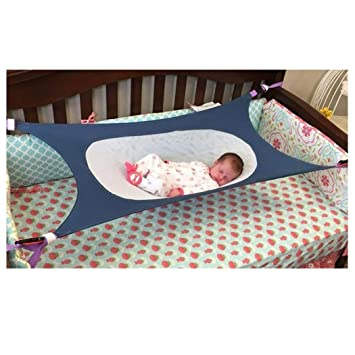 Bon Baby Hammock, Inkach 1PC Newborn Folding Crib Cot Portable Sleeping Bed  Safety Kids Printed Hammock