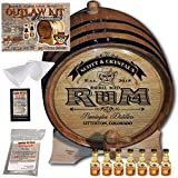 Personalized Outlaw Kit (Coconut Rum) ''MADE BY'' American Oak Barrel - Design 100: Barrel Aged Rum - 2018 Barrel Aged Series (5 Liter)