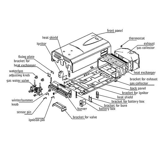 Hot Water Plate Exchanger