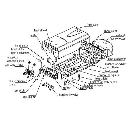 Gas Water Heater Burner
