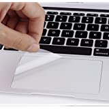 (2 Pack) Clear Anti-Scratch Trackpad Protector Touchpad Cover Skin for Newest MacBook Pro 13 Inch with or Without TouchBar Mo