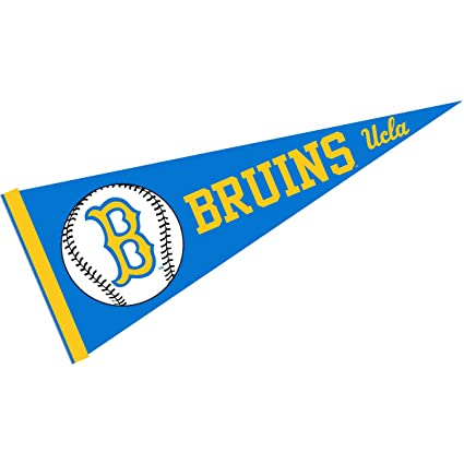 College Flags And Banners Co UCLA Baseball Pennant