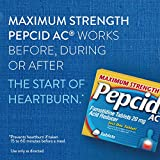 Pepcid AC Maximum Strength with 20 mg Famotidine