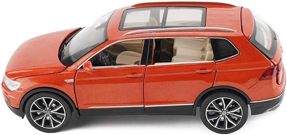 Pkjskh Sonido de la simulación del modelo del coche niños y encenderse tire de la puerta abierta Seis regalo Modelo de aleación de coches de juguete 1:32 Holiday Collection Decoración Decoración