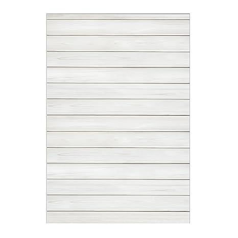 Muzi 150 X 220 Cm Bianco Legno Fioor Sfondo Lavagna Luminosa Sfondo