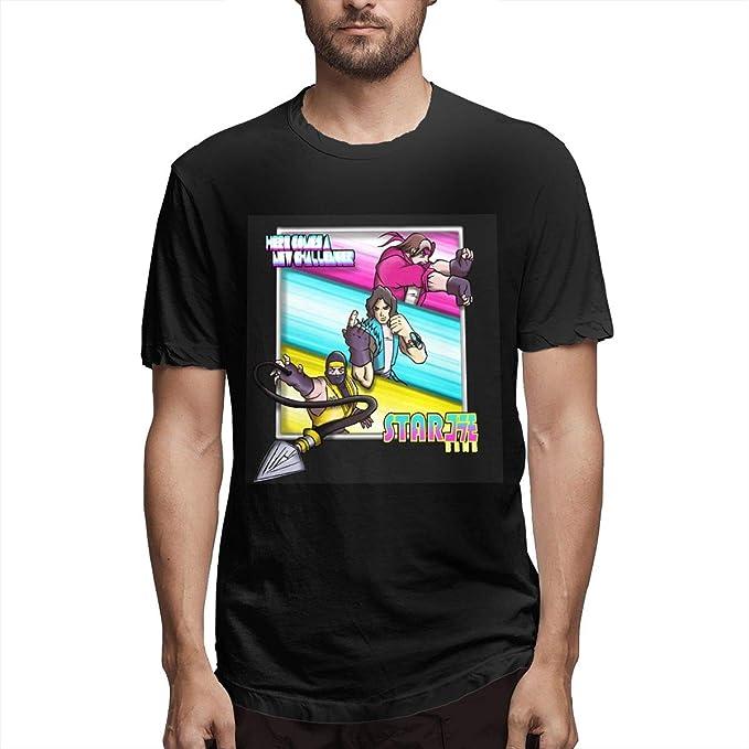Amazon.com: Amerltees Mens Starbomb Ninja Brian Short ...