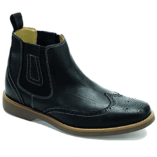 634ab3b988a8d Anatomic Gel Mens Gustavo Floater Brogue Chelsea Boots: Amazon.co.uk ...