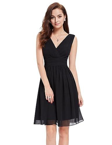 Ever-Pretty Women's Sexy V-Neck Long Fishtail Evening Dress 08838