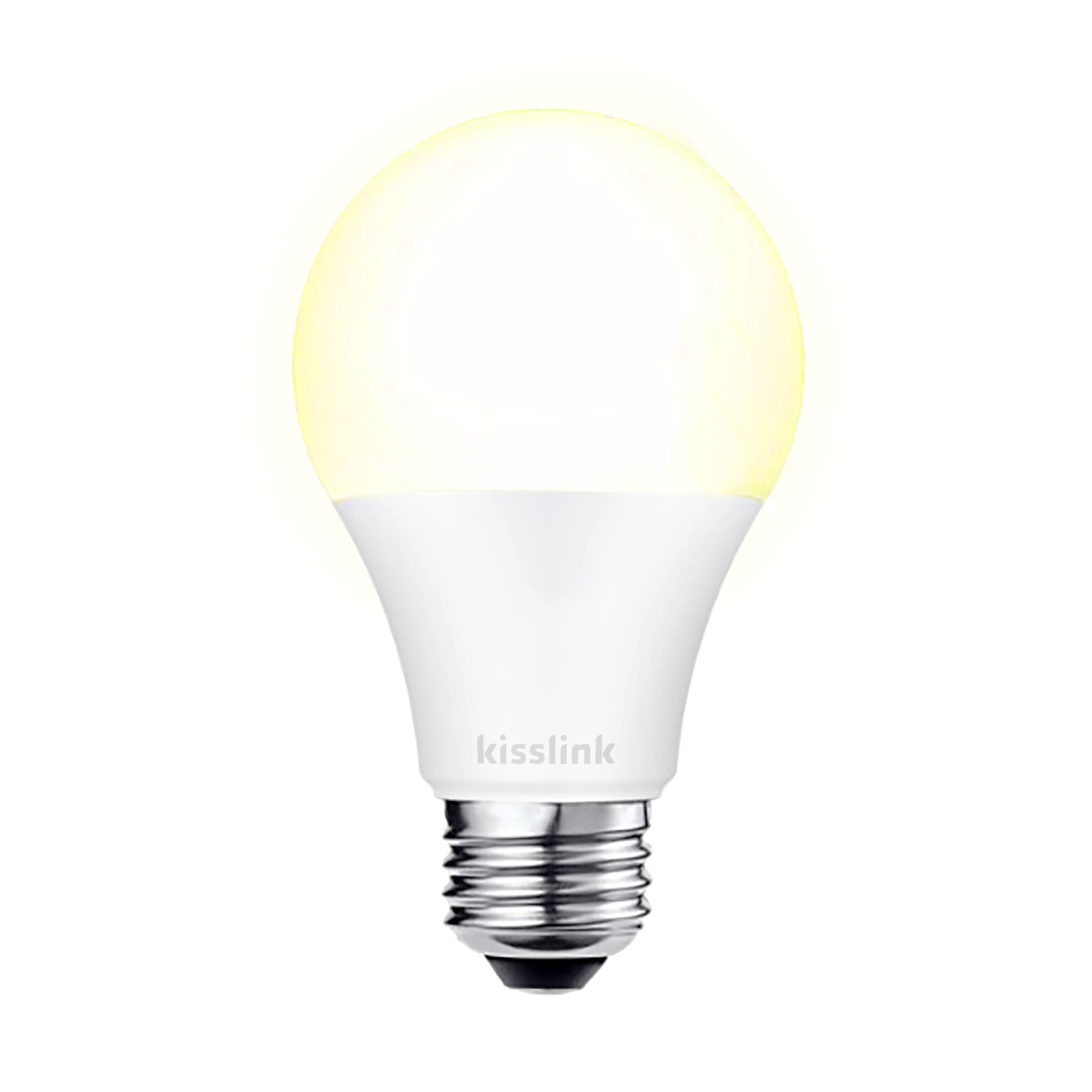 kisslink SB200 Wi-Fi LED Smart Light Bulb, 60W Equivalent, No Hub Required, Warm White, Works with Alexa and Google Assistant