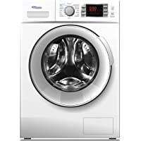Super General 8 kg Front Loading Washing Machine SGW 8400CRMS, 1400 RPM Washer, Energy-efficient, Silver, 16 Programs, 1…