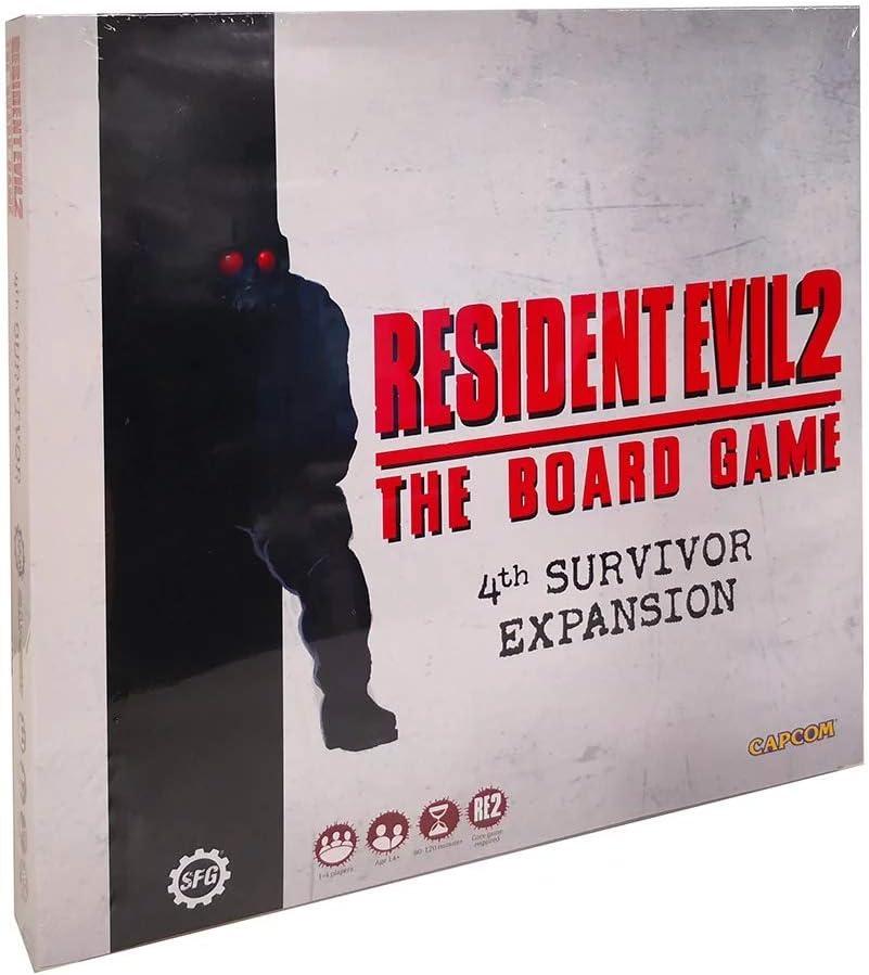 Desconocido Resident Evil 2: The Board Game - 4th Survivor Expansion: Amazon.es: Juguetes y juegos