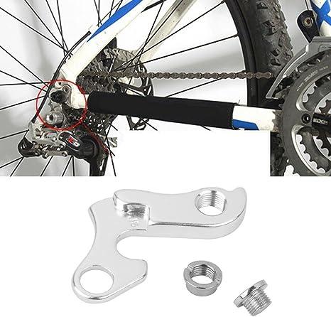 SM SunniMix 1 x Suspensión de Cambio de Bicicleta, Patilla de Cambio, Aleación de Aluminio Engranaje Trasero Patilla de Cambio Cambio de Gancho Adaptador: Amazon.es: Deportes y aire libre