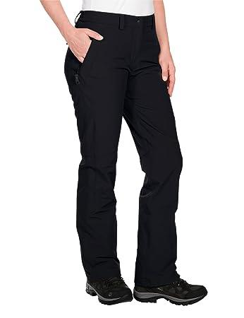 f8efe8730d Jack Wolfskin Women's Softshellhose Activate, Womens, Softshell Hose Activate  Winter Pants, Black,