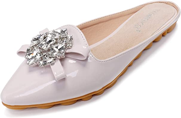 Loafers Sparkly Pointy Toe Flat Shoes