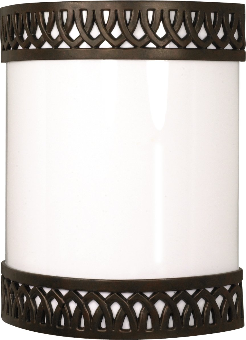 Nuvo 60/931 One Light Rustica Sconce, Old Bronze