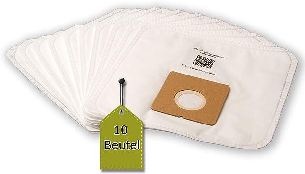 eVendix Staubsaugerbeutel passend für Bomann BS 9019 CB, 10 Staubbeutel + 1 Mikro Filter, kompatibel mit Swirl Y98Y298