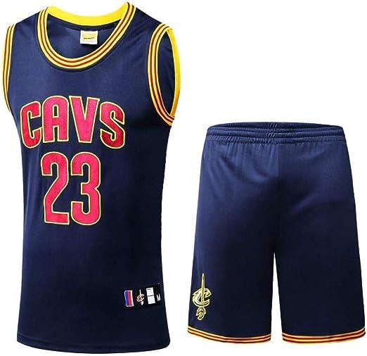 NBA Camiseta De Baloncesto,NBA Cavs #23 James Basketball Jersey ...