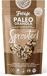 Forage Cereal Forage Cereal Paleo Sprouted Granola 400 g
