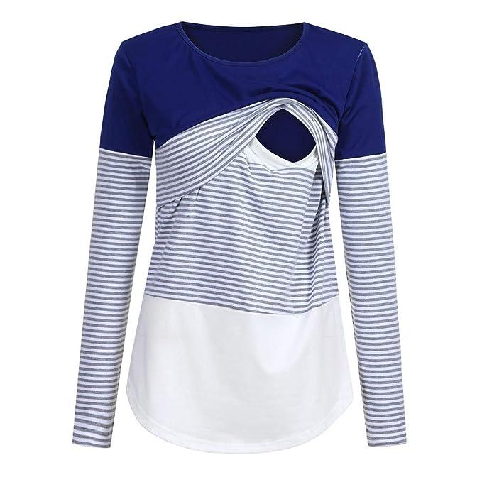 Hotsellhome Womens Ladies Mom Pregnant Nursing Baby T-Shirts Sweatshirt Maternity Christmas Tops Blouse Tops Clothes Gift
