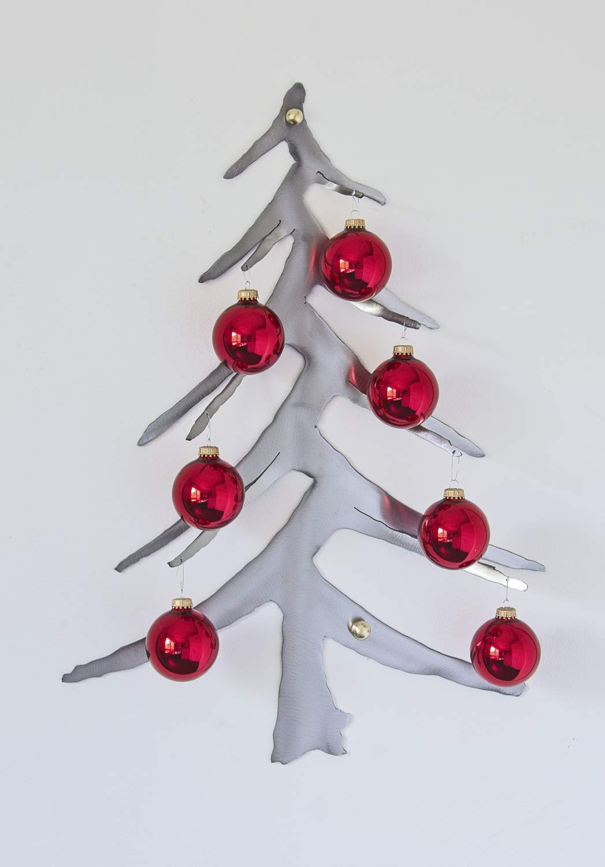 Contemporary Christmas Tree.Amazon Com Christmas Tree Ornament Display Mounts To Wall
