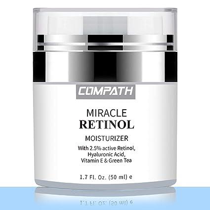 Retinol crema hidratante, compaginar antiedad arrugas noche/día crema para ojos y cara,