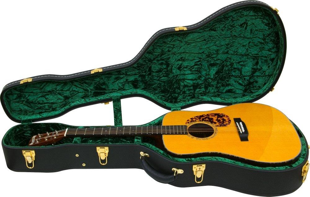 Silver Creek Archtop guitarra vintage Case Negro: Amazon.es ...
