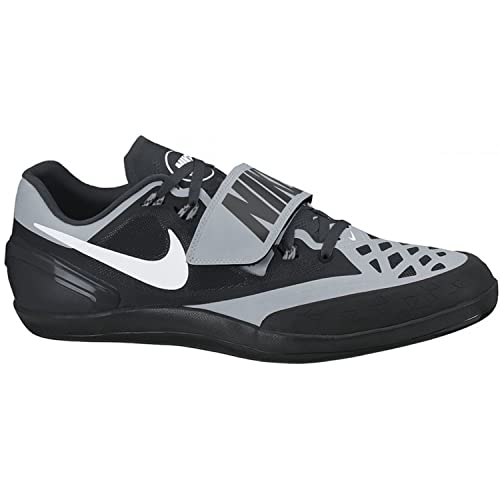 best service b900a 7c69f Nike Zoom Rotational Shot Put Discus Hammer Throws Shoes Black Silver Mens  Size 7.5 (Womens 8.5): Amazon.ca: Shoes & Handbags