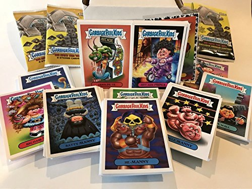 Card Set 2 Collector (2018 Topps Garbage Pail Kids WE HATE THE 80's Complete 180-Card Set GPK Trading Eighties '80s 80s)