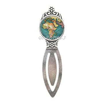 Map bookmark accessories africa world travel globe bookmark key fob map bookmark accessories africa world travel globe bookmark key fobgift for world traveler gumiabroncs Image collections