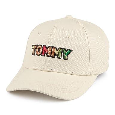 Tommy Hilfiger Tommy Patch Cap Gorra de béisbol, Gris, única ...