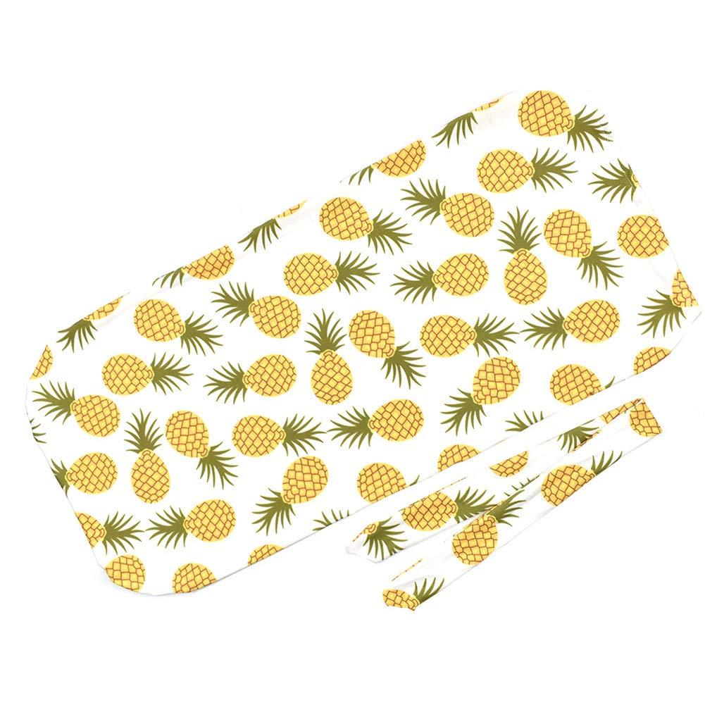 Newborn Cocoon Swaddle Wrap Baumwolle Umschlag Schlafsack Erhalten Decken Baby Swaddling mit Stirnband 1#
