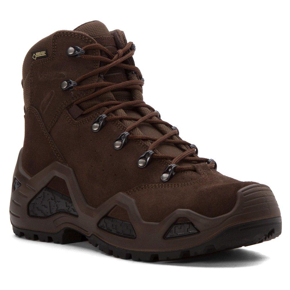 Dark Brown 9 D(M) US Lowa Mens Z6S GoteTex Suede Boots