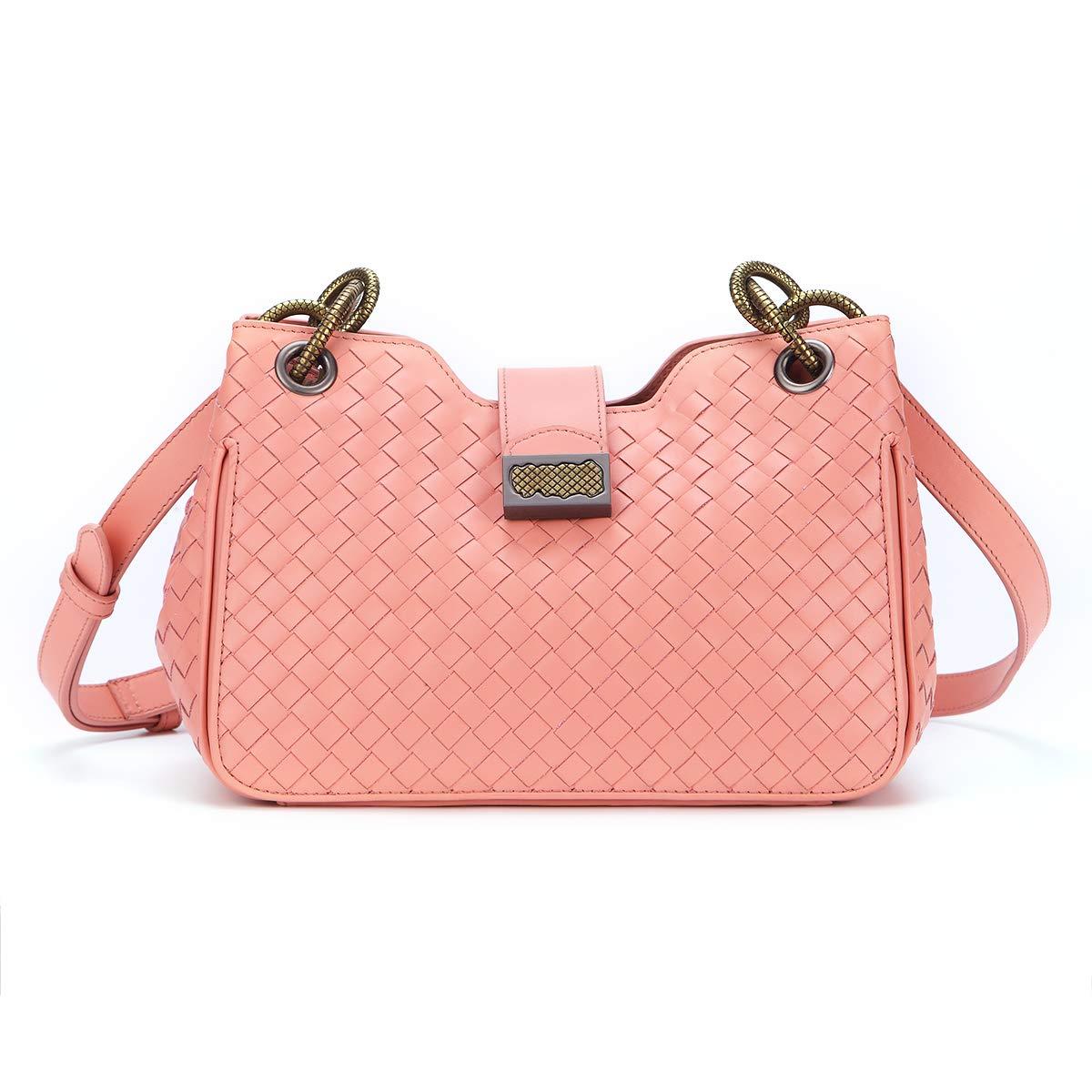 White Newest Genuine Leather Shoulder Bag Hobo Bag Crossbody Bag Purse for Women