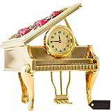 Matashi 24K Gold Plated Vintage Piano Desk