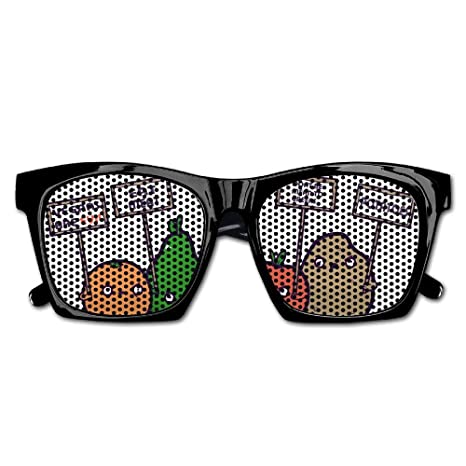 Amazon.com: Ysm&Gaz I Hate Vegans - Gafas de sol unisex ...