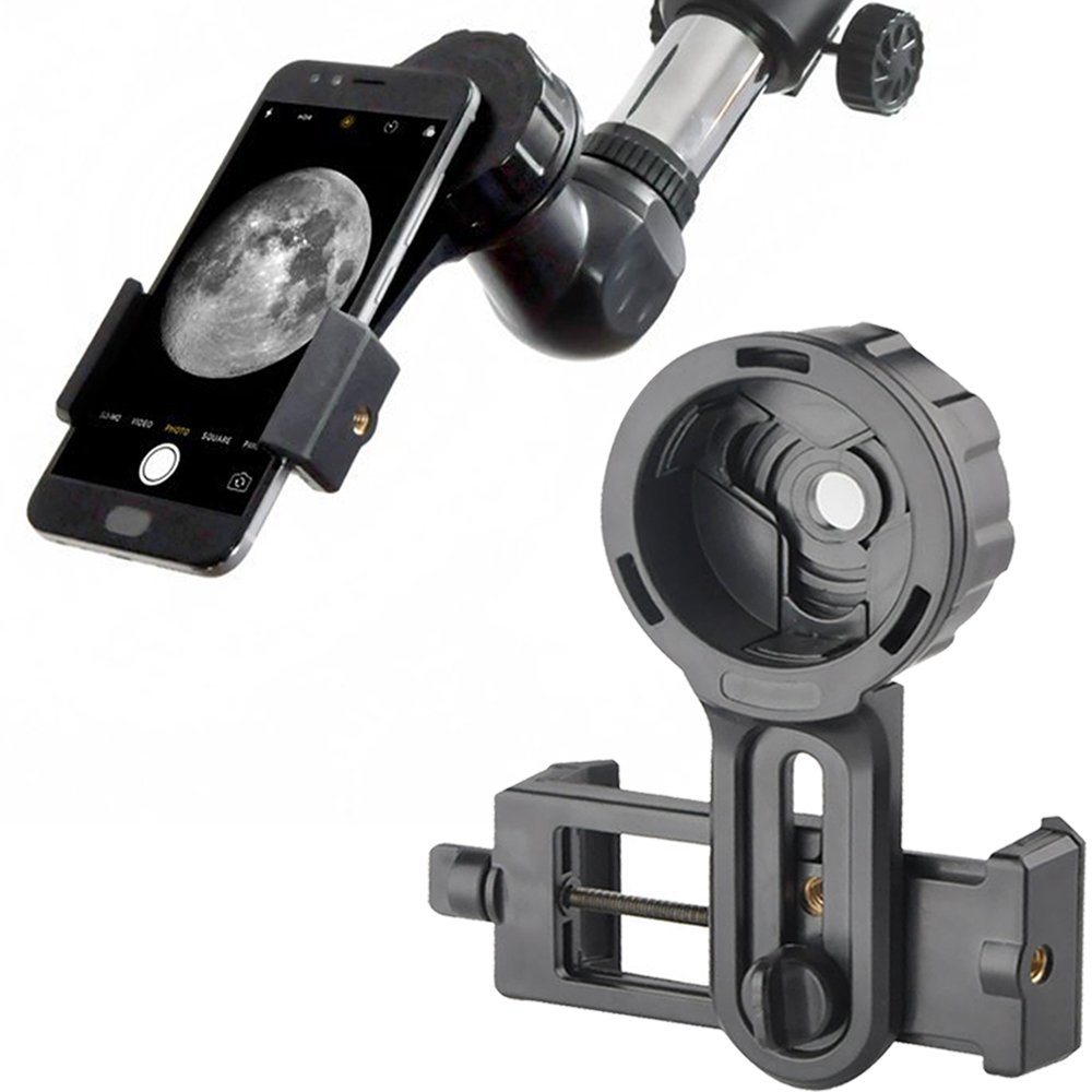 Landove Universal Cell Phone Smartphone Quick Photography Adapter Mount Connector for Telescope Binoculars Monocular Spotting Scope Microscope & and with Cell Mobile Phone by Landove