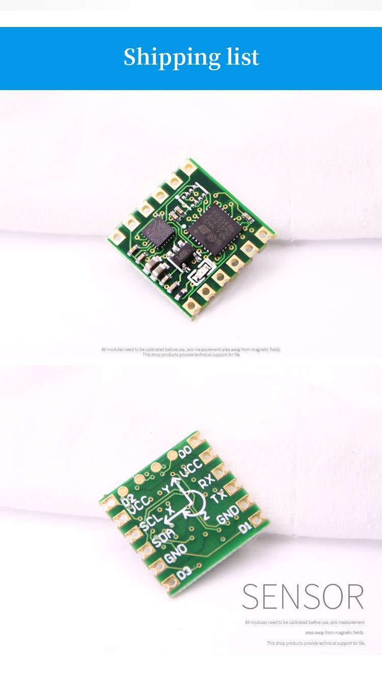 WT901 9 Axis AHRS MPU9250 Mems Inclinometer Accelerometer Module Gyroscope Angle Magnetic Field Anguar Velocity Chip mpu9250