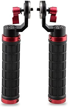 for Camera Rig Support Railblock Systems CAMVATE 15 Rod Clamp with Standard Accessory M6,31.8mm Red