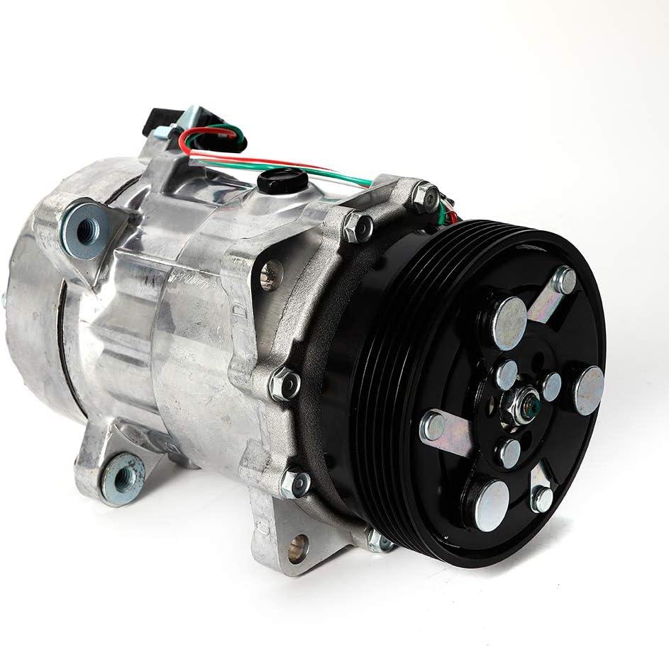 Yiwon 12v Oval Klimakompressor Kopressor Klimaanlage Kompressor 1j0820803 Auto