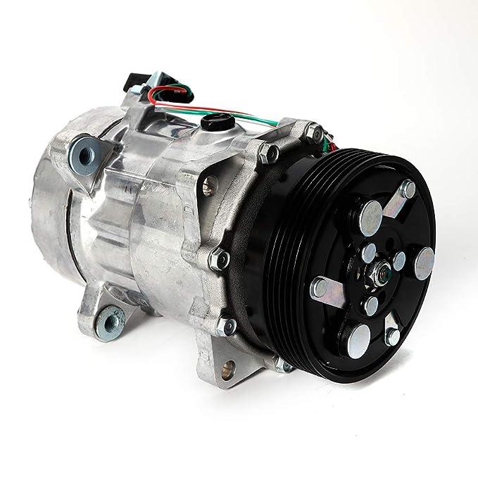 Compresor de aire acondicionado ovalado 12V Compresor de aire ...